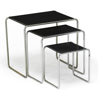 Marcel Breuer, 'Three Tables, Austria', Early 20th C.