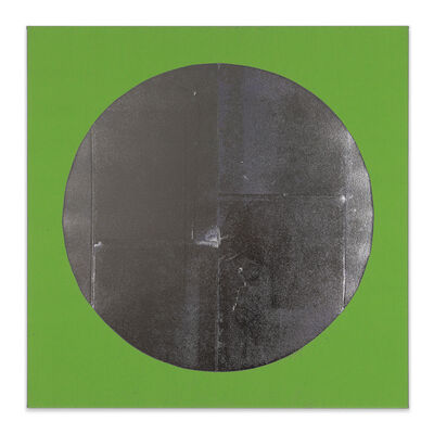 Chad Kouri, 'Reflection Pool Green (3x3)', 2021