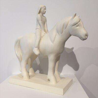 Kenny Hunter, 'Girl with Pony', 2012