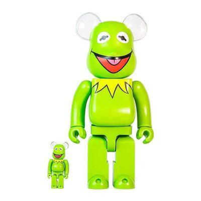 BE@RBRICK, 'Bearbrick Kermit The Frog 100% & 400% Set', 2020