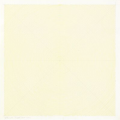 Sol LeWitt, 'Yellow Circles', 1972