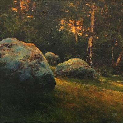 Shawn Krueger, 'Field and Stone Study 2', 2019
