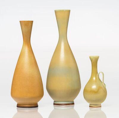 Berndt Friberg, 'Three Bottle Vases', circa 1965