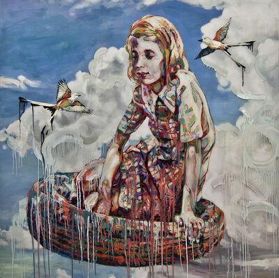 Hung Liu, 'Migrant Dream', 2017