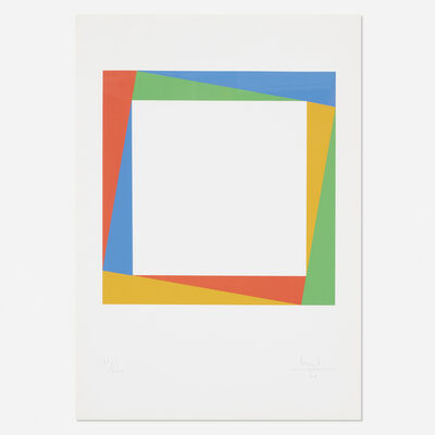 Max Bill, 'Radiation of a Square', 1970