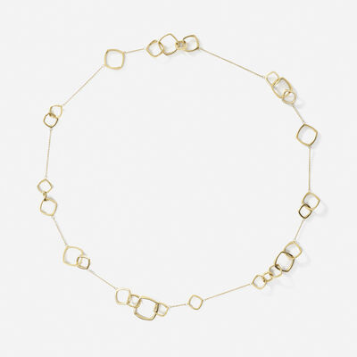 Frank Gehry for Tiffany & Co., 'A gold Torque necklace'