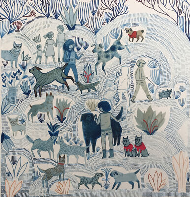 Ashley Amery, 'Dog Walks', 2017