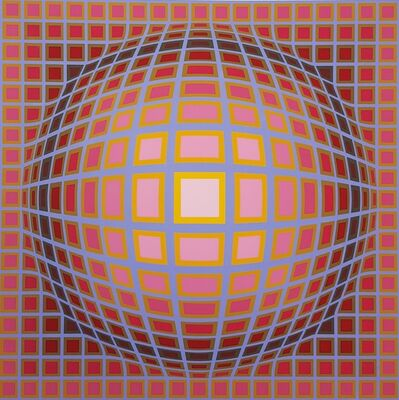 Victor Vasarely, 'Titan C', 1985