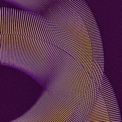 Manss Aval, 'Purple Congruence', 2016