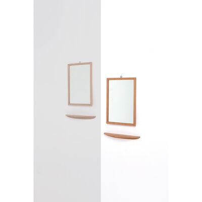 Peder Moos, 'Set of wall bracket and mirror', 1945