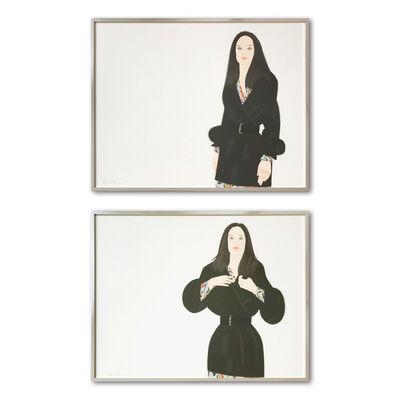 Alex Katz, 'Maria I and II', 1992