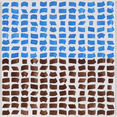 Jacob Ouillette, 'Blue/Brown 108', 2018