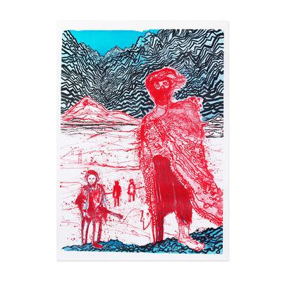 Daniel Richter, 'Begegnungen im Hinterland', 2011
