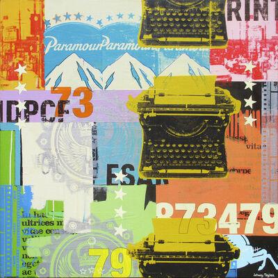 Johnny Taylor, '3 Typewriters', 2014