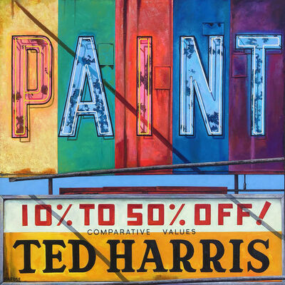 Will Rafuse, 'Paint Ted Harris', 2020