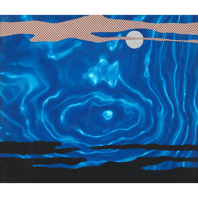 Roy Lichtenstein, 'Moonscape from 11 Pop Artists, Volume I', 1965