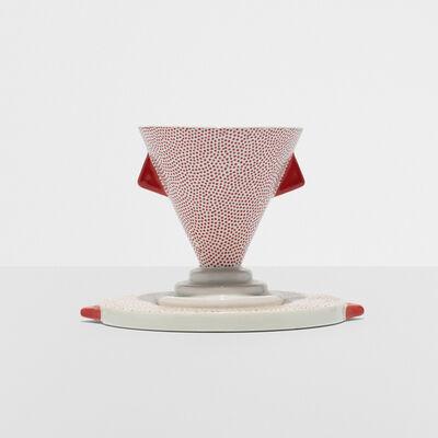 Matteo Thun, 'Nefertiti cup and saucer', 1981