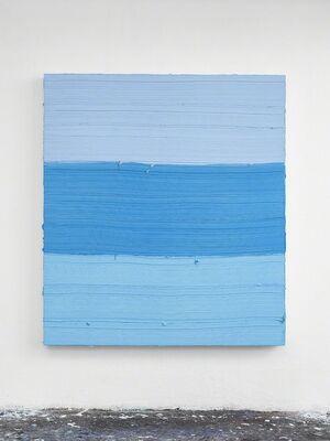 Jason Martin, 'Untitled (Royal Blue Light / Zurich Blue / Titanium White) ', 2018
