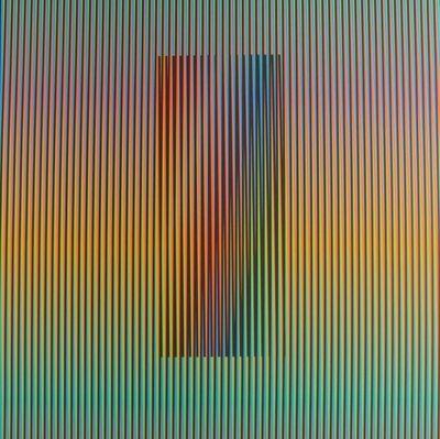 Carlos Cruz-Diez, 'Inducción Cromática a Doble Frecuencia', 2003