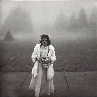 Diane Arbus, 'A Flower Girl at a Wedding, Connecticut', 1964