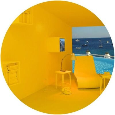 Vered Rosen, 'Salone del Mobile (Design fair in Milan), Background: Mykonos (Greece)', 2018