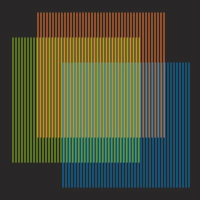Carlos Cruz-Diez, 'Week Series - Monday', 2013