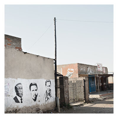Jabulani Dhlamini, 'Sunset shops, Vuka, Sharpeville', 2015