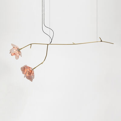 Chen Chen and Kai Williams, 'Double Stone Rose Pendant', 2019