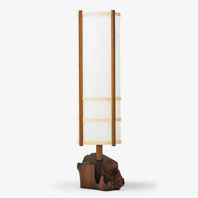 George Nakashima, 'Kent Hall floor lamp, New Hope, PA', 1980