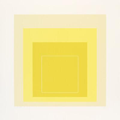 Josef Albers, 'WLS XVII', 1967