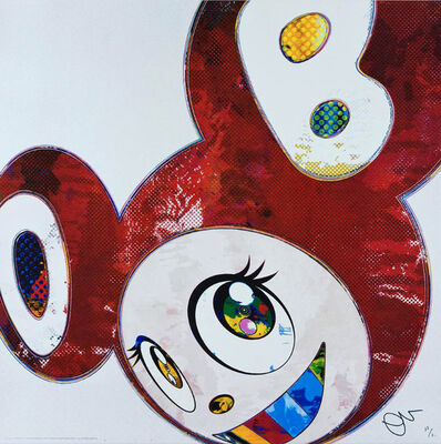 Takashi Murakami, 'And Then x6 Red Dots: The Superflat Method', 2016