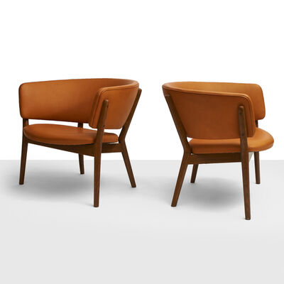 Nanna Ditzel, 'Pair of Model ND83 Lounge Chairs', 1950-1959
