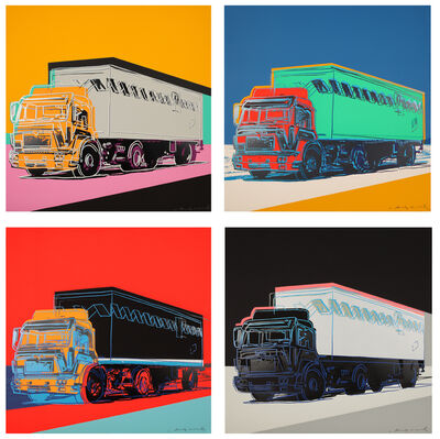 Andy Warhol, 'Truck 1985', 1985