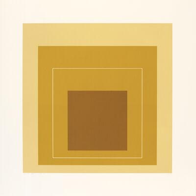 Josef Albers, 'WLS XVI', 1966