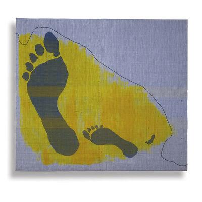 Ethel Stein, 'Footprints on the Dunes', 2011