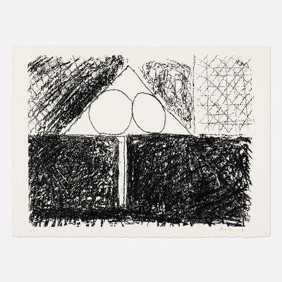 Robert Motherwell, 'Madrid Suite D (from The Madrid Suite)', 1966