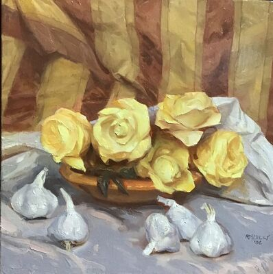 Paul Rahilly, 'Garlic and Roses', 2006