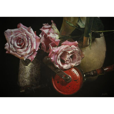 Patsy Whiting, 'Roses, Jugs and Drill', 2018