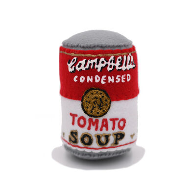 """Lucy Sparrow, '""""CAMPBELLS TOMATO SOUP""""', 2016"""