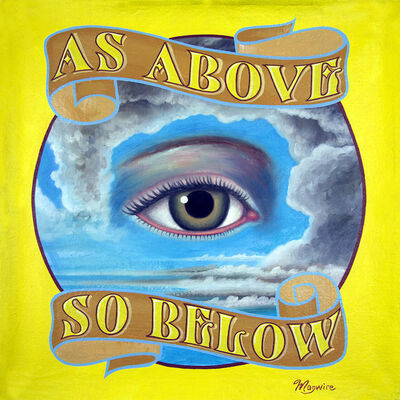 "molly mcguire, '""As Above, So Below""', ca. 2018"