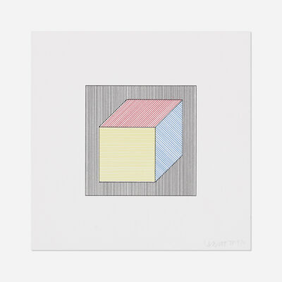 Sol LeWitt, 'Untitled (from Twelve Forms Derived From a Cube)', 1984