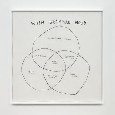 Christine Sun Kim, 'When Grammar Mood', 2020