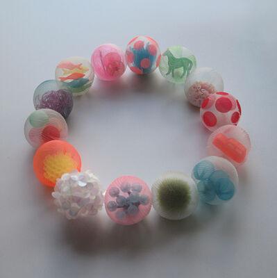 Mariko Kusumoto, 'bubble necklace 1', 2020