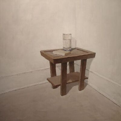 Brian Blackham, 'Book, Water, Table', 2020