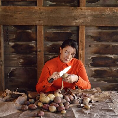 Marina Abramović, 'Portrait with Potatoes', ca. 2008