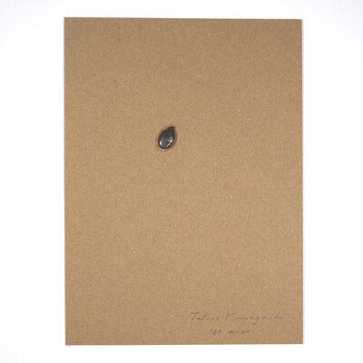 Tatsuo Kawaguchi, 'Relation – One Seed of Lead / Pumpkin ', 1987