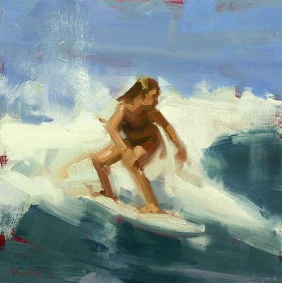 David Shevlino, 'Turquoise Wave', 2017