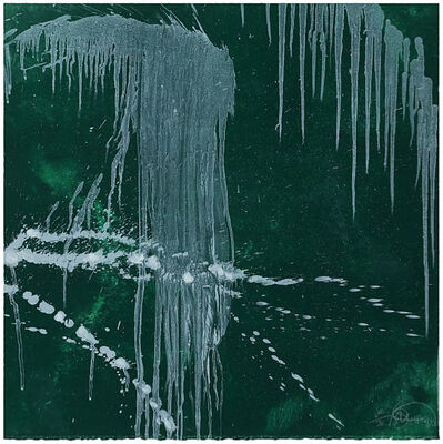 Pat Steir, 'Waterfall (green)', 1996