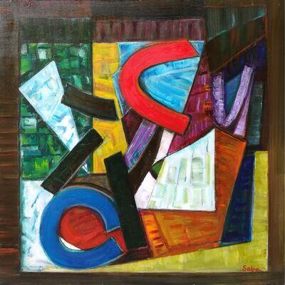 Bruno Saba, 'pittura 15', 2016