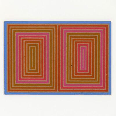Richard Anuszkiewicz, 'Double Structure', 1973